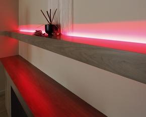 ledstrips in de woonkamer - Led Verlichting Lampen