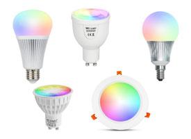 Verlichting schakelen via wifi, losse lampen